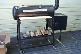 How To Build A Backyard Bbq Pit by How To Build A Reverse Flow Offset Smoker 7 Steps With Pictures