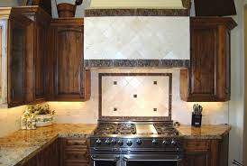 tuscan kitchen backsplash tuscan kitchen with marble tile backsplash distressed knotty