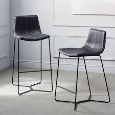 stools design outstanding black leather bar stool wonderful