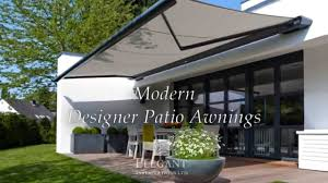 Modern Retractable Awning Elegant Patio Awnings Youtube
