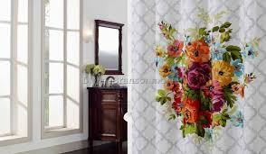 Beautiful Shower Curtains by Shower Bed And Bath Shower Curtains Playfulness Drapes And