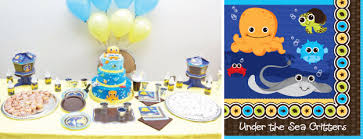 the sea baby shower decorations birthday party decorations big dot of happiness
