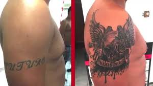 skull wings pistols cover up gran canaria