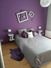 chambre violet déco chambre violet gris galerie et decoration violette avec de