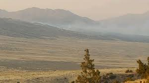 Wildfire Near Reno by Air Quality Poor As Fire Moves Away From Hungry Valley Reno