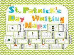 Writing Maps Lovely Literacy U0026 More St Patrick U0027s Day Writing Maps U0026 Leeby U0027s
