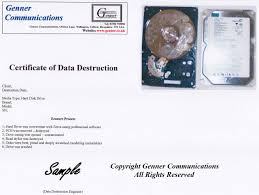 Sample Emt Resume by Certificate Of Destruction Template Virtren Com