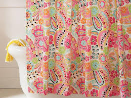 Teal Colored Shower Curtains Creatively Colorful Shower Curtains Hgtv