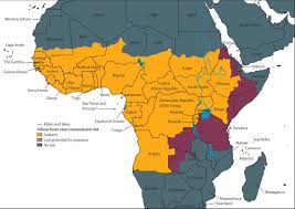 Benin Africa Map by The Revised Global Yellow Fever Risk Map And Recommendations For