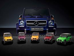mini giants the mercedes amg g 63 crazy color in 1 18 mercedesblog