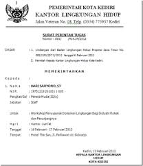 contoh surat perintah kerja tugas spk silop