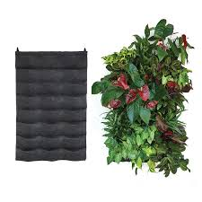 florafelt 24 pocket vertical garden planter
