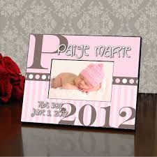 personalized gifts baby baby girl personalized picture frame