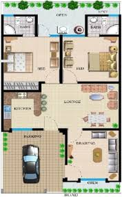 House Map Design 20 X 40 55 Simple Small House Floor Plans 20x40 House Plans Second Units