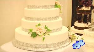 2013 bridal trends bling u0027d out wedding cheesecake youtube