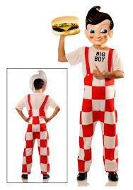 big boy deluxe costume w plastic mask halloween costumes