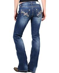 Boot Barn Jeans Shyanne Women U0027s Faux Leather Striped Boot Cut Jeans Boot Barn
