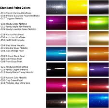 Most Popular Colors Maaco Paint Selection Spraying Pinterest Auto Paint Toyota