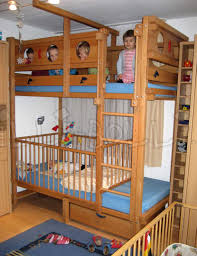ausgezeichnet stockbett kinder etagenbett mit vier kindern und babygitter jpg