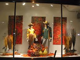 thanksgiving fall thanksgiving displays with mannequins