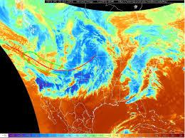 Jetstream Map Jet Stream Baroclinic Instability