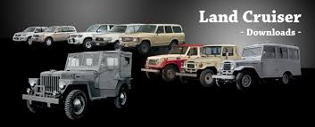 land cruiser vintage toyota global site land cruiser downloads