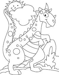 cute dinosaur coloring pages image dinosaur 2017