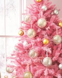 pink christmas trees christmas lights decoration