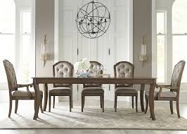 amelia rectangular dining room table set by liberty home gallery
