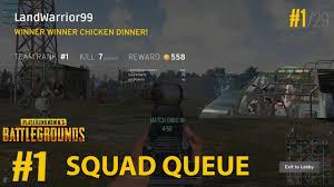 pubg rankings pubg squad queue 1 rank win suppressed m16 8x scope youtube