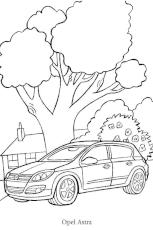 coloriage voiture porsche