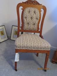 how old is my chair wooden front casters only my antique