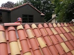 Terracotta Tile Roof Clay Tile Roof Installation Portland Oregon