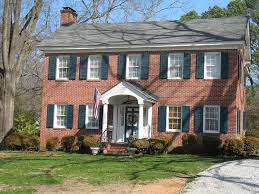 brick colonial house plans oldhouses com 1940 colonial historic warrenton one of