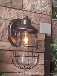 altair outdoor led coach light costco manor house vintage led coach light costco our picks pinterest