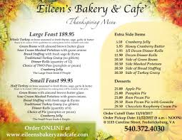 thanksgiving eileens bakery and american thanksgiving datedate