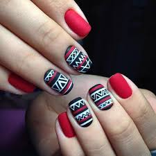 best 25 tribal nails ideas on pinterest tribal nail designs