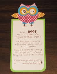 owl invitations birthday afoodaffair me