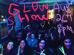 glow show glow show w justin elizabeth arielle norman