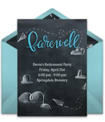 farewell party invitation free farewell party online invitations punchbowl