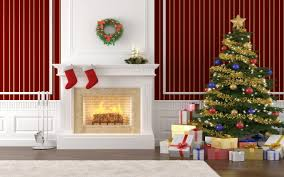 christmas fireplace dact us christmas decorations on the fireplace clipart clipartfest