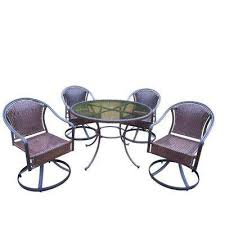 Patio Furniture Resin Wicker by Wicker Patio Furniture Resin Patio Dining Sets Patio Dining
