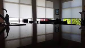 lutron motorized shades vancouver youtube
