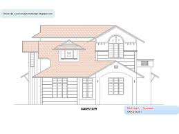 home plan and elevation 2138 sq ft kerala home design and