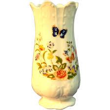 Aynsley China Cottage Garden Vase Outstanding Aynsley China Cottage Garden Vase Ainsley China 1500