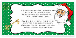 santa key santa key adhesive tag labels