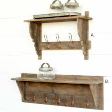 tack room wall mounted coat rack antique farmhouse
