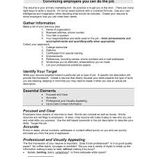 Write My Resume For Me For Free My Perfect Resume How To Prepare Resume Formatawesome How To A
