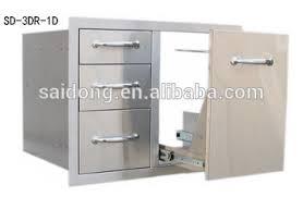 Outdoor Kitchen Storage Cabinets - stainless steel outdoor storage cabinet bbq components outdoor