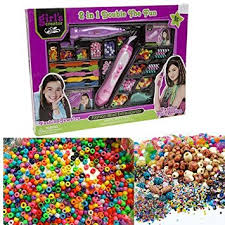 bead bracelet kit images Girls fashion beads bracelet maker necklace jewellery kids hair jpg